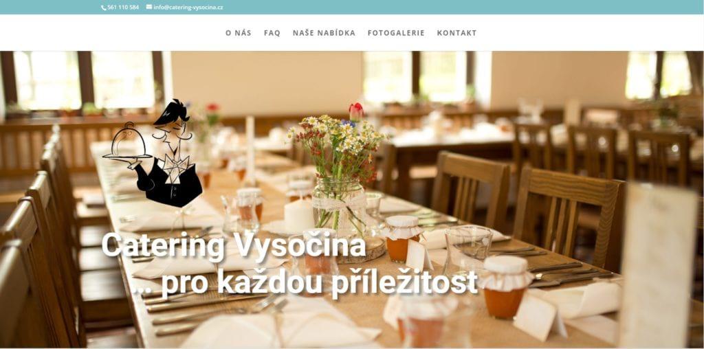 Catering Vysočina - svatební raut