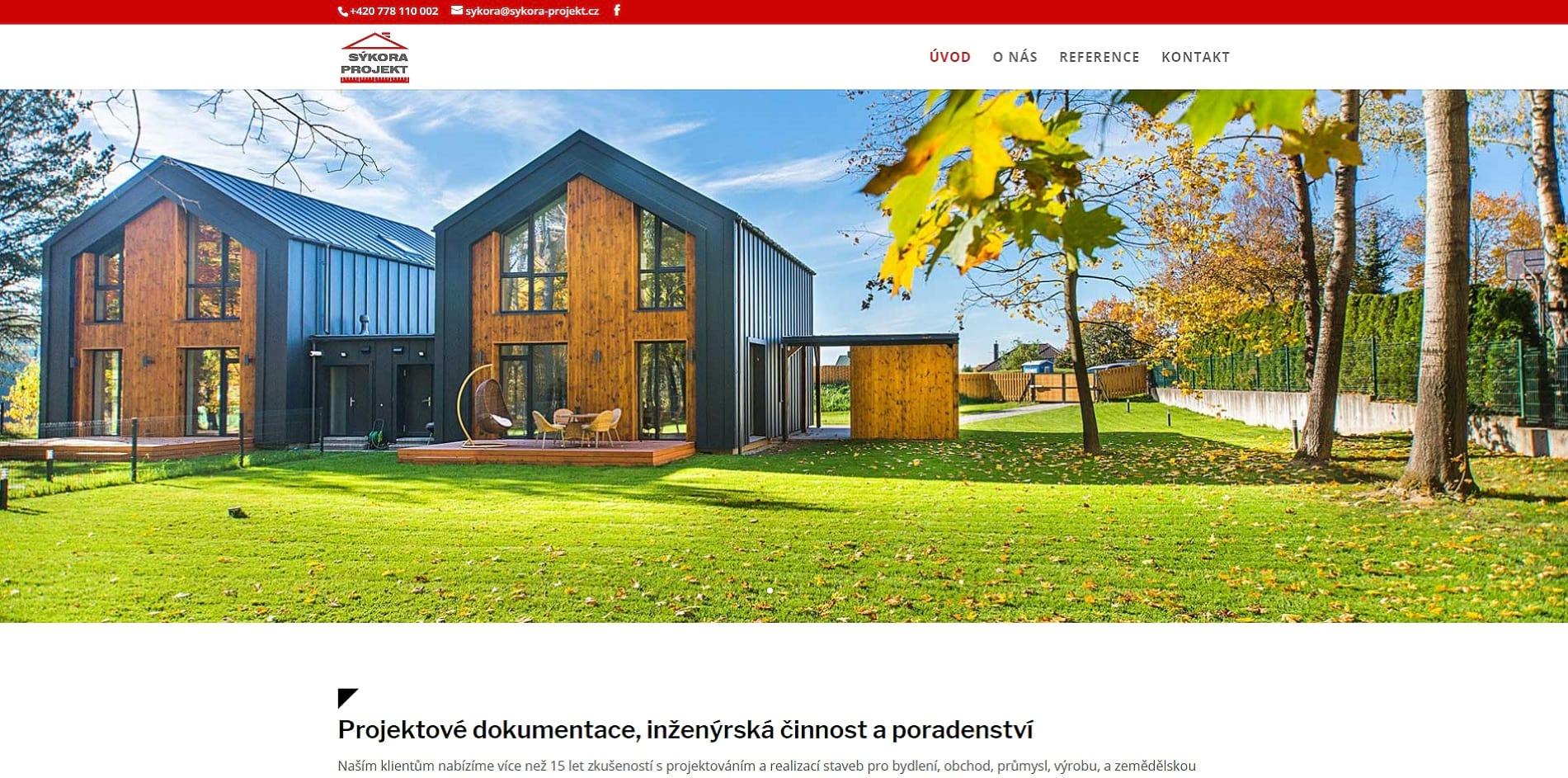 Stavební projektant Jan Sýkora - Projektová kancelář