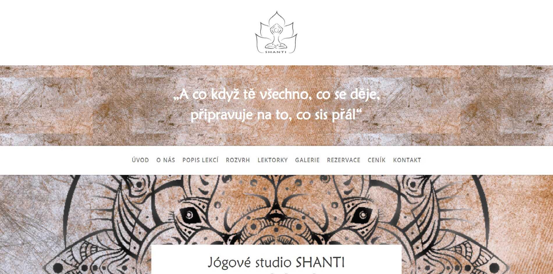 Jóga Shanti - jógové studio